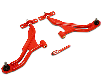 BMR Front Lower Control A-Arms - Standard Ball Joint - Red (10-14 All)