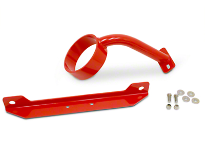 BMR Front Driveshaft Safety Loop - Red (05-10 All)