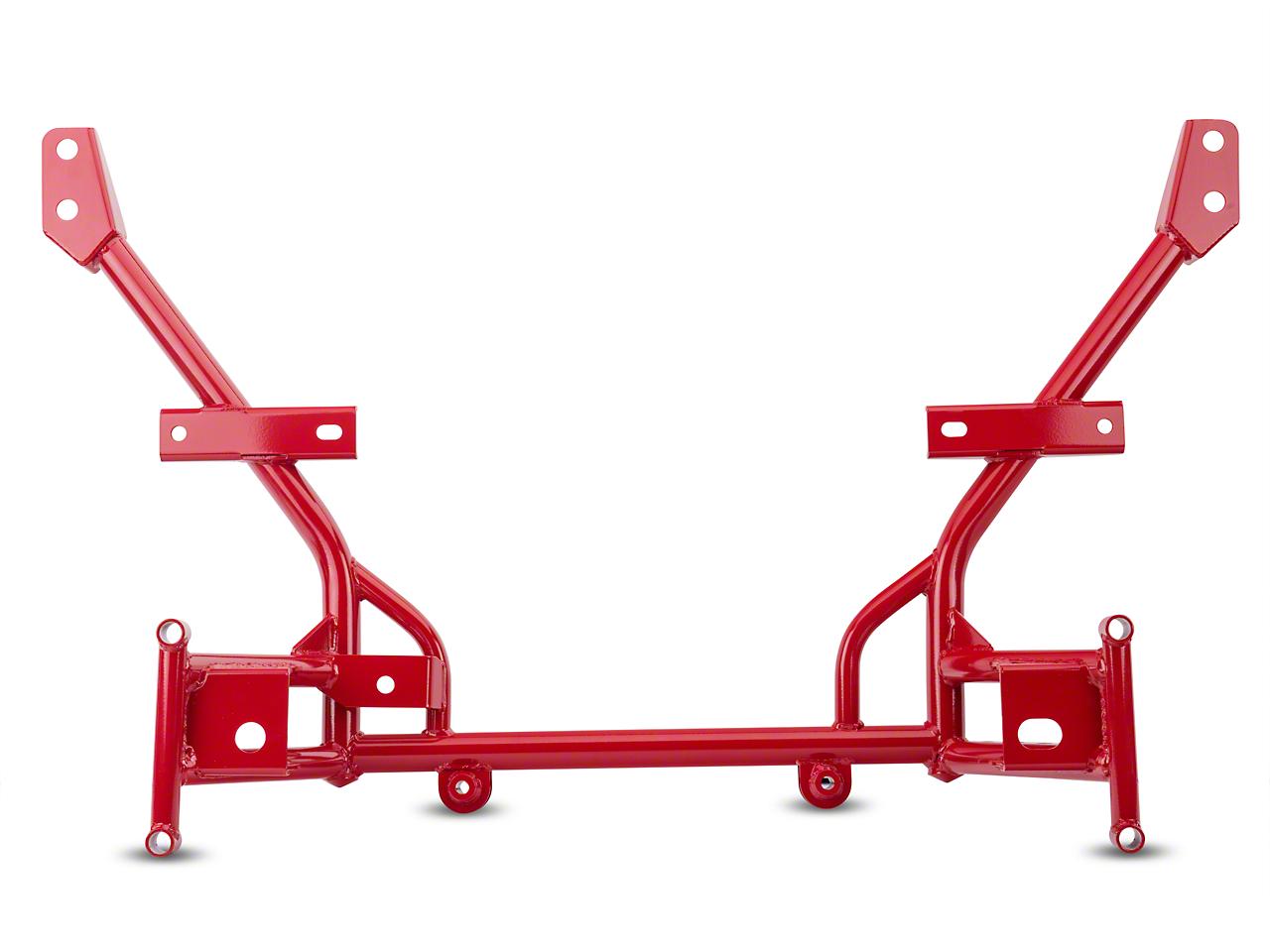 BMR Tubular K-Member - Standard Motor Mounts - Red (05-14 All)