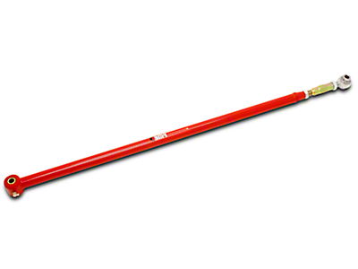BMR Adjustable Panhard Bar - Poly/Rod - Red (05-14 All)