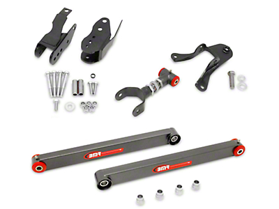 BMR Level 3 Rear Control Arm Package - Hammertone (05-10 All)