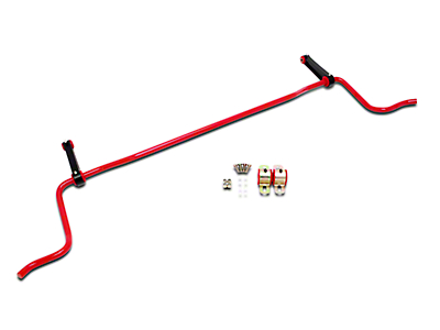 BMR Rear Sway Bar - Red - Coupe (05-10 All)