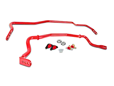BMR Adjustable Sway Bar Kit - Red (15-17 All)