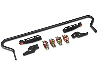 BMR Adjustable Rear Sway Bar w/ Fabricated End Links - Hammertone (05-14 All)
