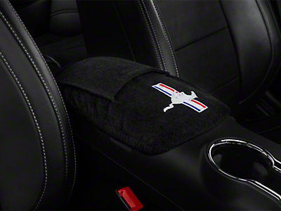 Seat Armour Center Console Cover - Tri-Bar Pony (15-17 All)