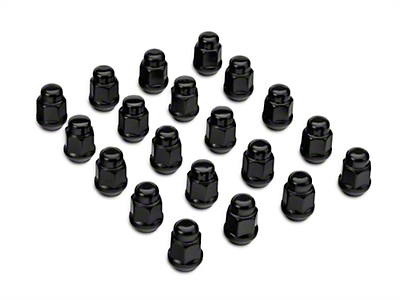 Black Lug Nut Kit - 14mm x 1.50 (15-16 All)