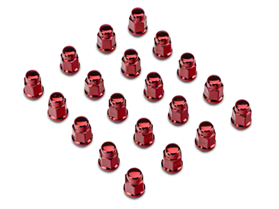 Red Acorn Lug Nut Kit - 3/4 in. (79-14 All)