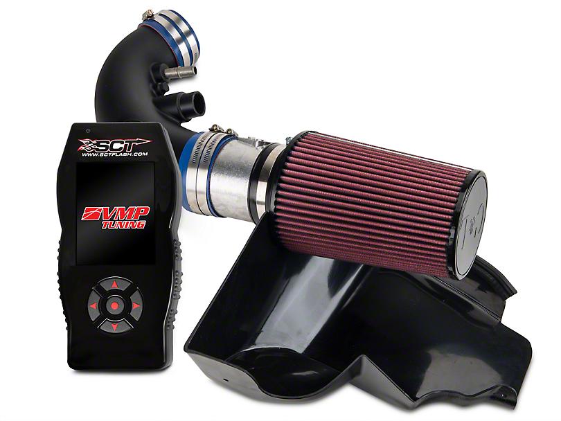C&L Racer Cold Air Intake w/ 95mm MAF & VMP X4 Tuner (11-14 GT, BOSS)