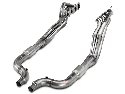 Stainless Power Long Tube Catted Headers - 1-7/8 in (15-16 GT)