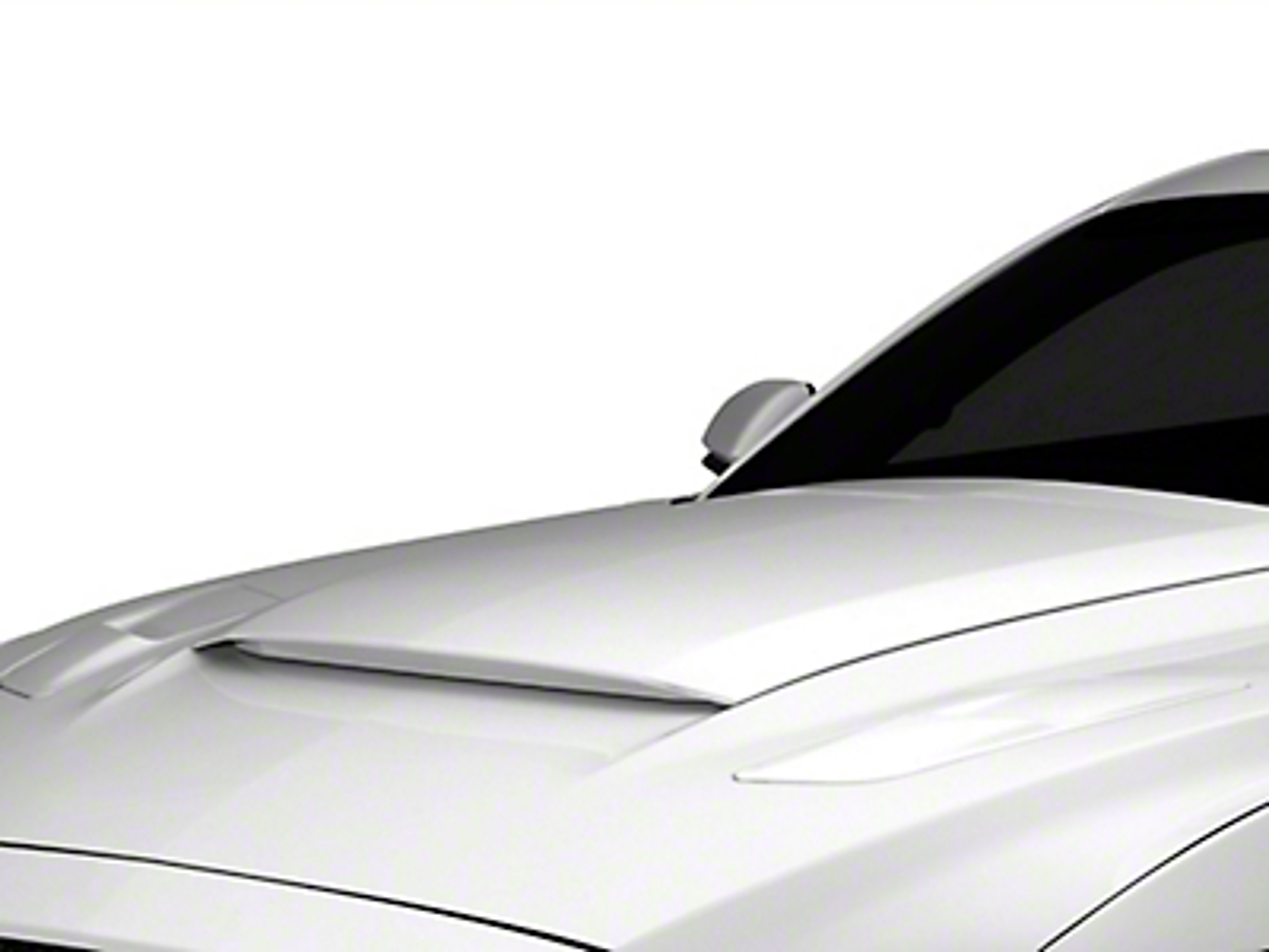 MMD V-Series Hood Scoop - Unpainted (15-17 GT, EcoBoost, V6)