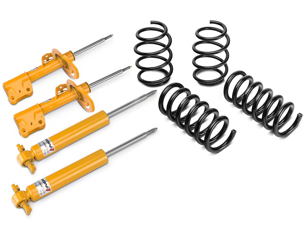 KONI Sport Adjustable Shock, Strut & Eibach Pro-Kit Lowering Springs (15-17 V6, EcoBoost)