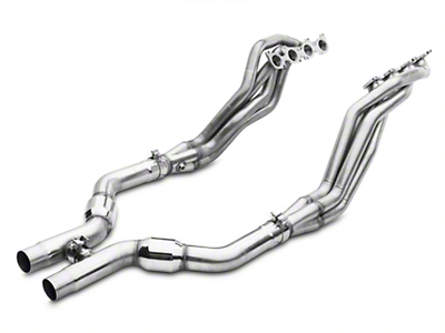 MBRP Long Tube Header and Catted H-Pipe Kit - 1-7/8 in x 3 in. (11-14 GT)