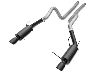 MBRP Street Cat-Back Exhaust - Black Tips (11-14 GT)