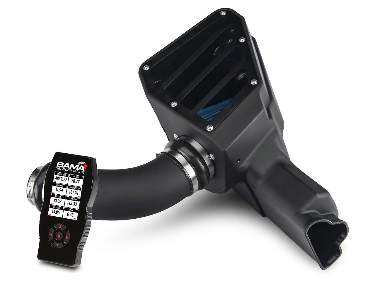 C&L Cold Air Intake And BAMA X4 Tuner (15-16 V6)