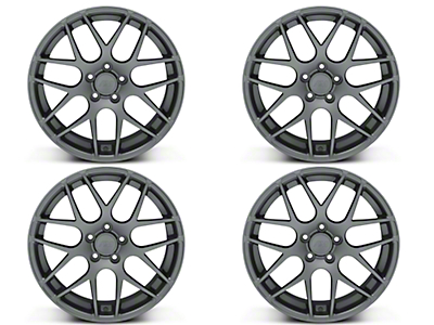 AMR Charcoal 4 Wheel Kit - 19x8.5 (05-14 All)
