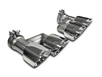 Corsa Pro Series Quad 4in. Exhaust Tip Kit - Polished (15-17 GT)