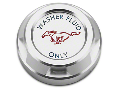 Washer Reservoir Cap - Running Pony Logo (15-17 GT, EcoBoost, V6)