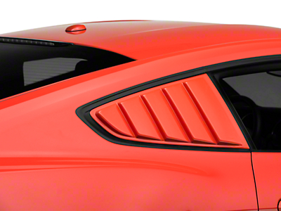 ABS Quarter Window Louver - Unpainted (15-17 All)