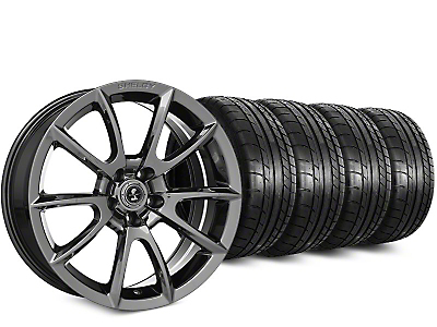 Super Snake Style Chrome Wheel & Mickey Thompson Street Comp Tire Kit - 19x8.5 (15-17 All)