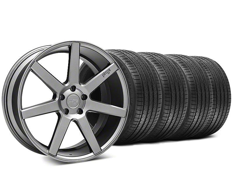 Niche Verona Anthracite Wheel & Sumitomo HTR Z III Tire Kit - 20x9 (15-16 All)