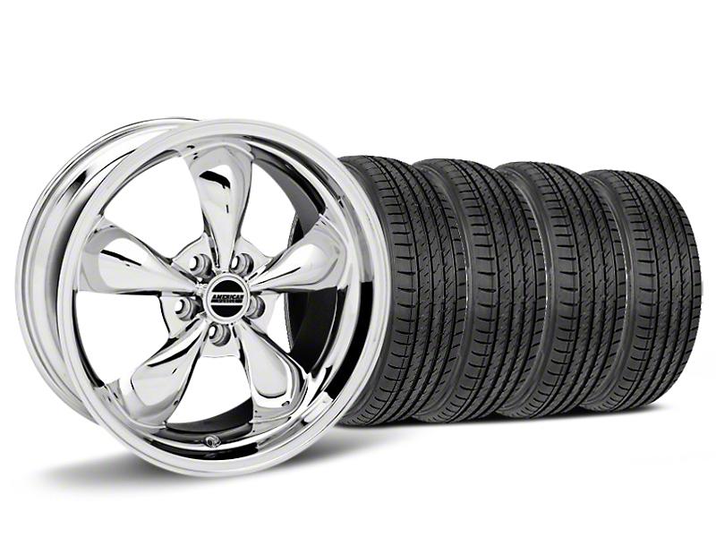 Bullitt Chrome Wheel & Sumitomo HTR Z III Tire Kit - 19x8.5 (15-17 V6, EcoBoost)