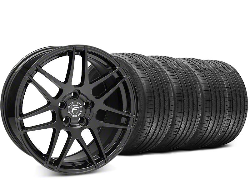 Forgestar F14 Piano Black Wheel & Sumitomo HTR Z III Tire Kit - 20x9.5 (15-17 All)