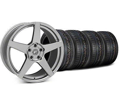 Forgestar CF5 Gunmetal Wheel & NITTO INVO Tire Kit - 20x9.5 (15-17 All)