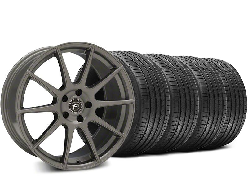 Forgestar CF10 Gunmetal Wheel & Sumitomo HTR Z III Tire Kit - 19x9.5 (15-17 All)