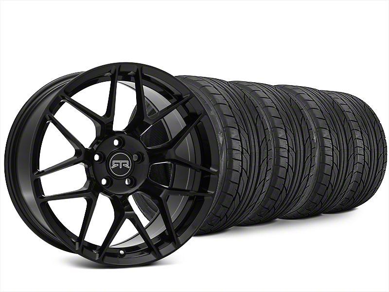 RTR Tech 7 Black Wheel & NITTO NT555 G2 Tire Kit - 20x9.5 (15-17 All)