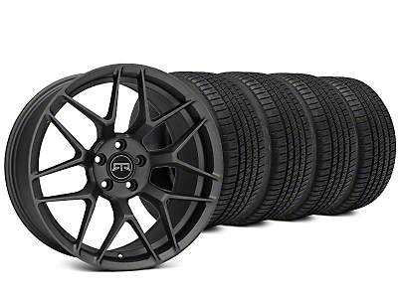RTR Tech 7 Charcoal Wheel & Michelin Pilot Sport A/S 3+ Tire Kit - 19x9.5 (15-17 All)