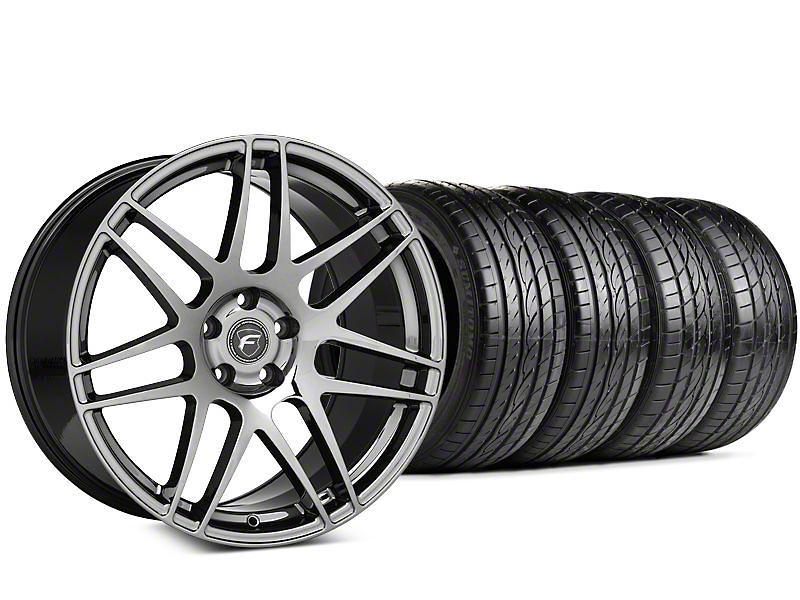 Forgestar F14 Nickel PVD Wheel & Sumitomo HTR Z III Tire Kit - 20x9 (15-16 All)