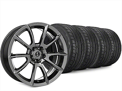 Staggered Super Snake Style Chrome Wheel & NITTO NT555 G2 Tire Kit - 20x9/10 (15-17 All)