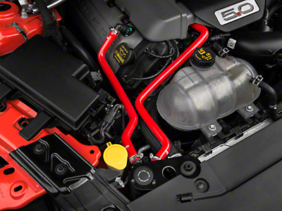 Mishimoto Direct Fit Baffled Oil Separator System - Red Silicone Hoses (15-16 GT)