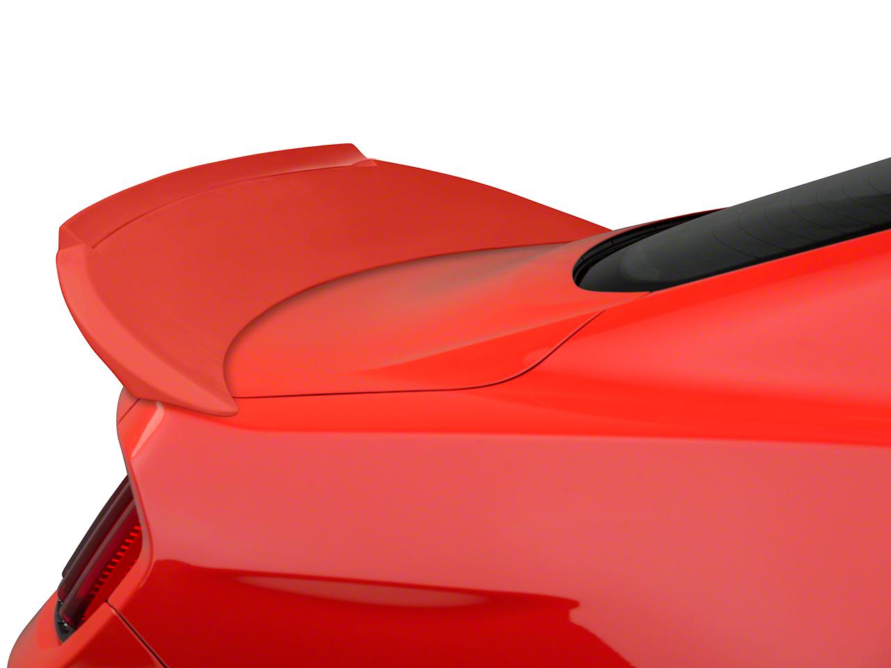 Trufiber Fiberglass Rear Spoiler w/ Gurney Flap - Fastback - Unpainted (15-17 GT, V6, EcoBoost)