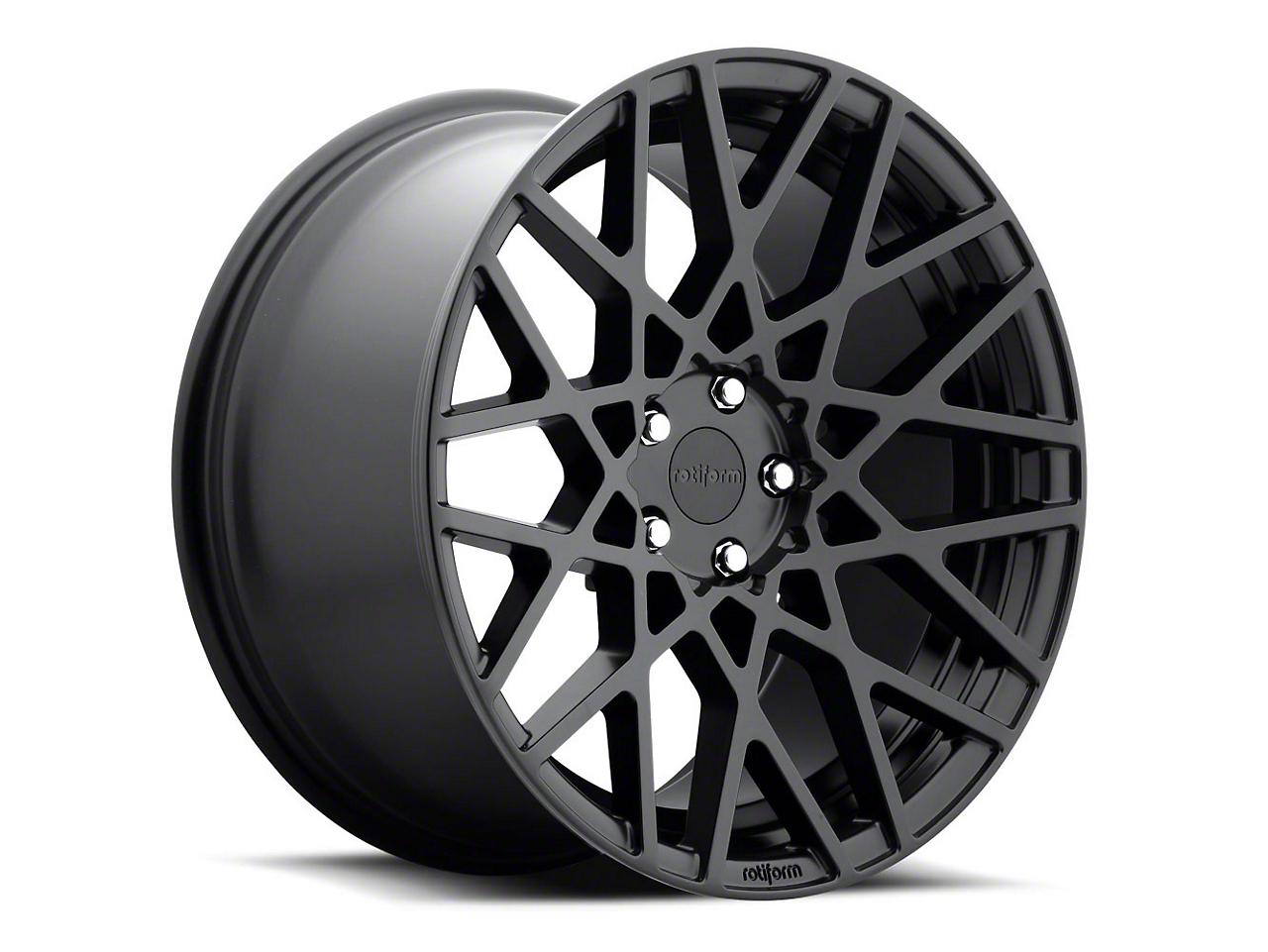 Rotiform Black Machined BLQ Wheel - 19x10 (05-14 All)