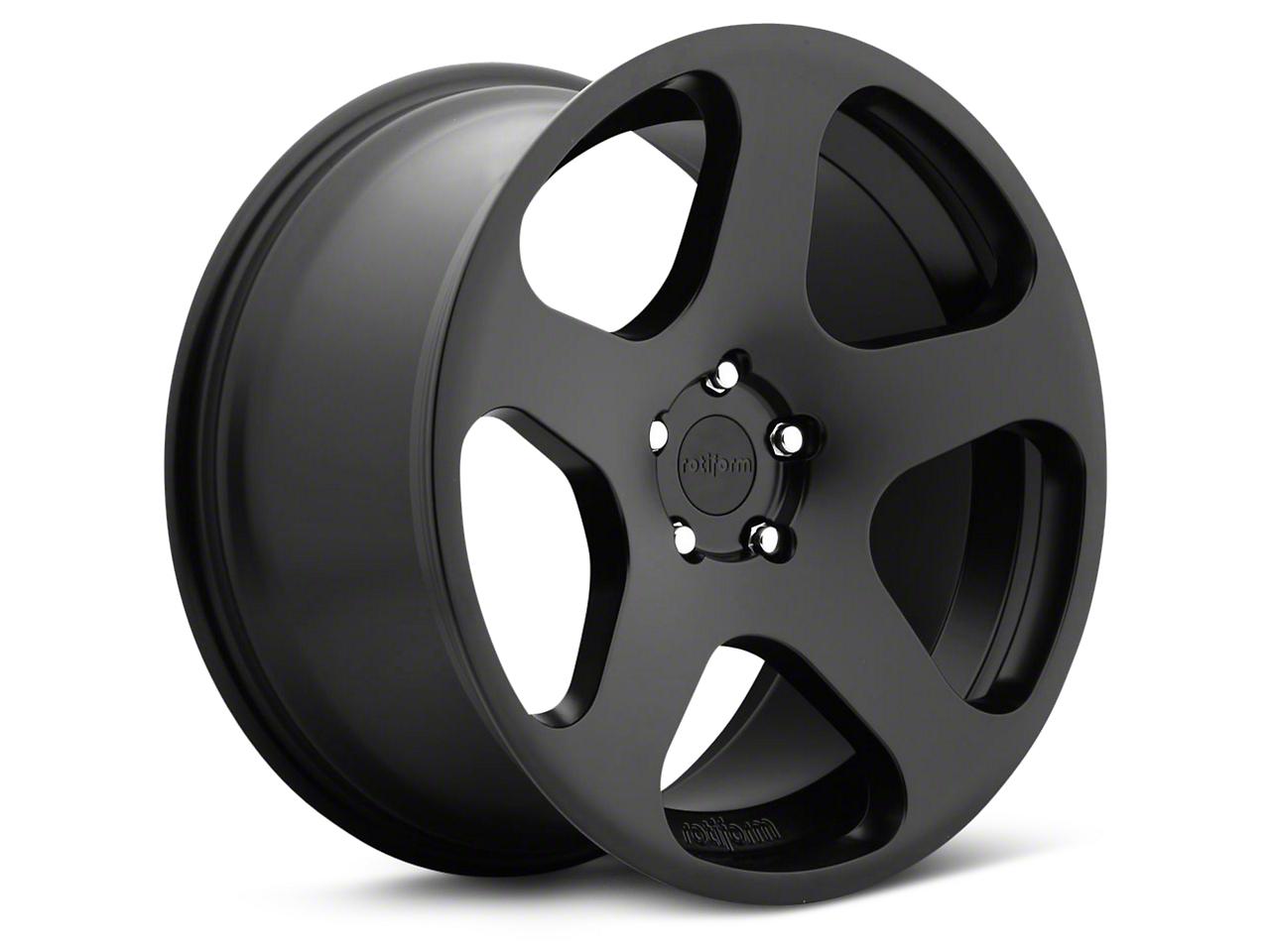 Rotiform Matte Black NUE Wheel - 19x10 (05-14 All)