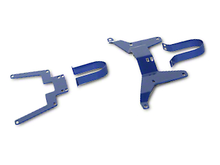 GMS Driveshaft Safety Loops - Front & Rear (05-14 All)