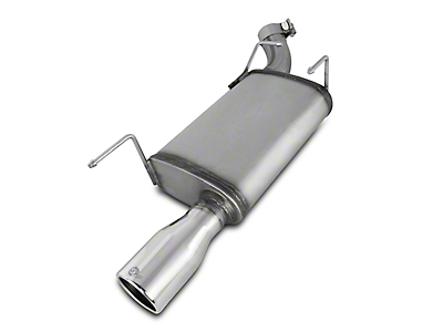 aFe Mach Force-XP 2.5 in. Axle-Back Exhaust - Polished Tip (05-09 V6)