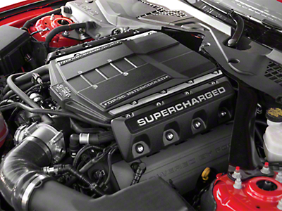 Edelbrock E-Force Stage 1 Street Supercharger Kit - Manual (15-17 GT)