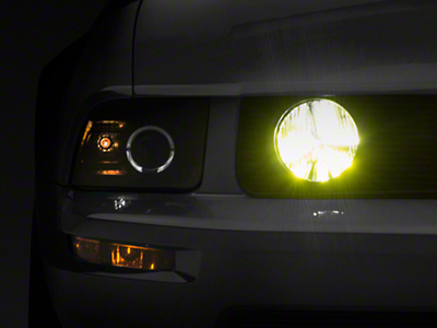 Raxiom Yellow Fog Light LED Conversion Bulb Kit - H10 (05-09 GT, 03-04 Cobra)