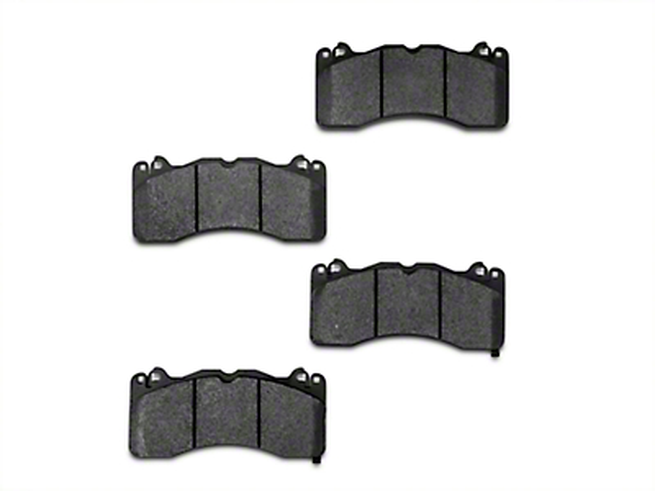 Stillen Metal Matrix Brake Pads - Front Pair (15-17 GT w/ Performance Pack)