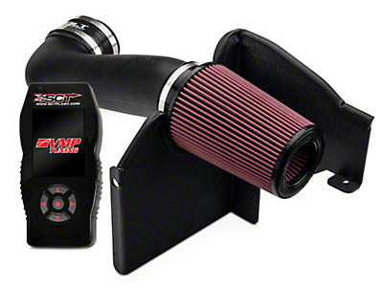 JLT Cobra Jet Intake CAI & SCT X4 Tuner w/ VMP Tunes (11-14 GT)