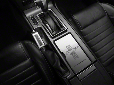 Modern Billet Center Console Trim Kit - Chrome (10-14 Rubber, 10-12 Leather)