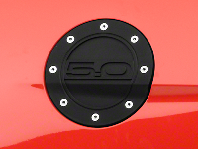 Competition Series Fuel Door - 5.0 Black (15-17 All)