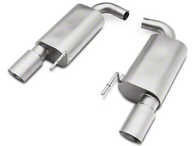 cp-e Austenite Axle-Back Exhaust System (15-17 Ecoboost)