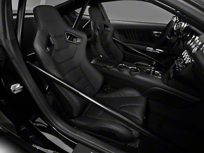 Braum Racing Elite Series Sport Reclining Seats - Black w/ Black Stitching - Pair (99-17 All)