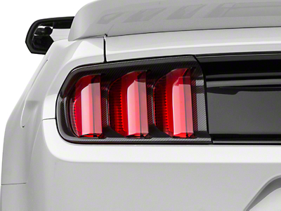 MMD Carbon Fiber Tail Light Bezels (15-17 All)