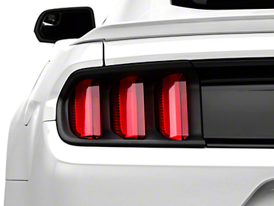 MMD Tail Light Trim - Matte Black (15-17 All, Excludes 50th Anniversary)