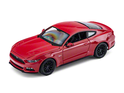Maisto 1:18 2015 Ford Mustang GT Diecast - Red