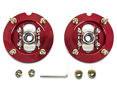 Pedders Adjustable Camber Plates (05-14 All)